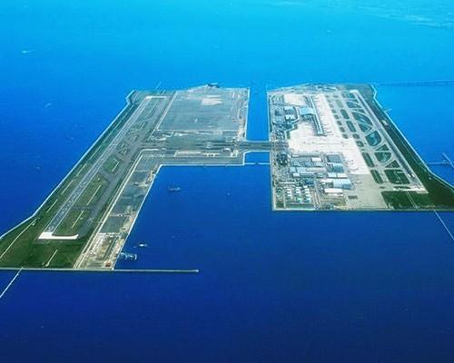 Luchthaven in zee